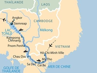 vietnam, cambodge, croisiere, croisieurope