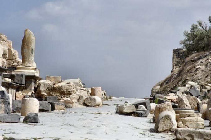voyage,jordanie,umm qais,pella