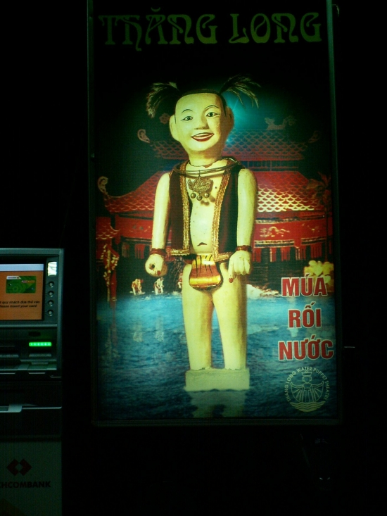 voyage,vietnam,hanoi,marionnettes