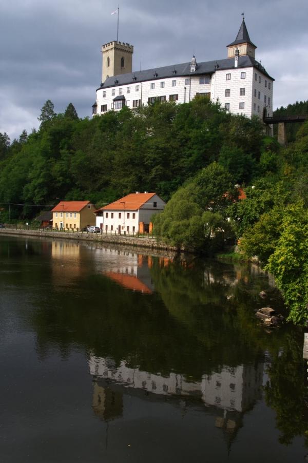 tchequie,rožmberk,Český krumlov