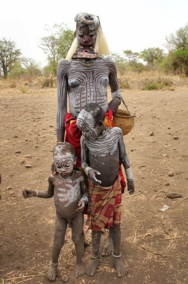 voyage, ethiopie, mursi