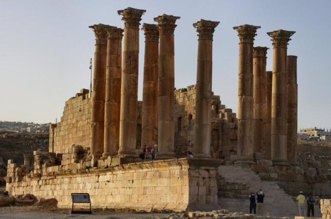 voyage,jordanie,ajlun,jerash