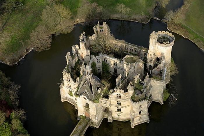 poitou,patrimoine,chateau,la mothe chandeniers