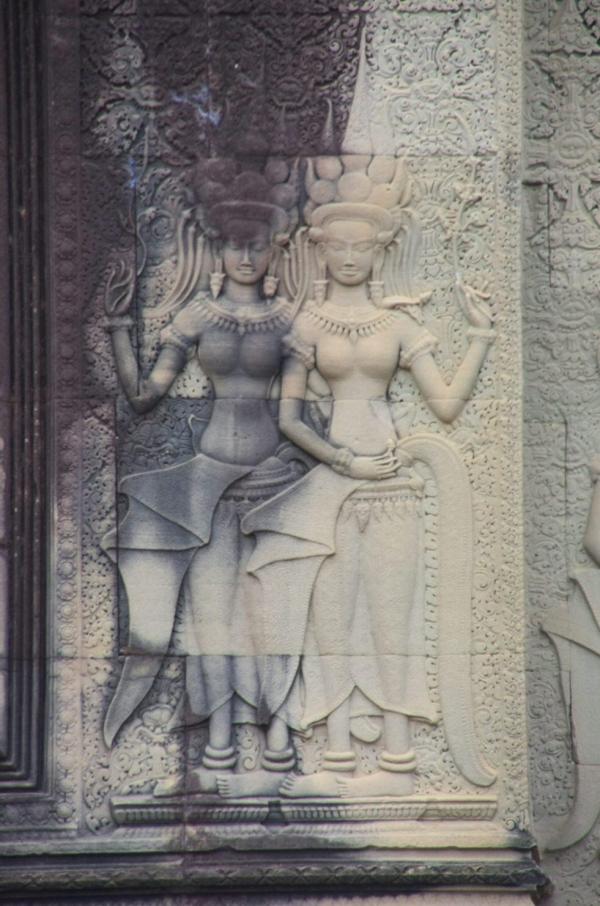 voyage, cambodge, angkor