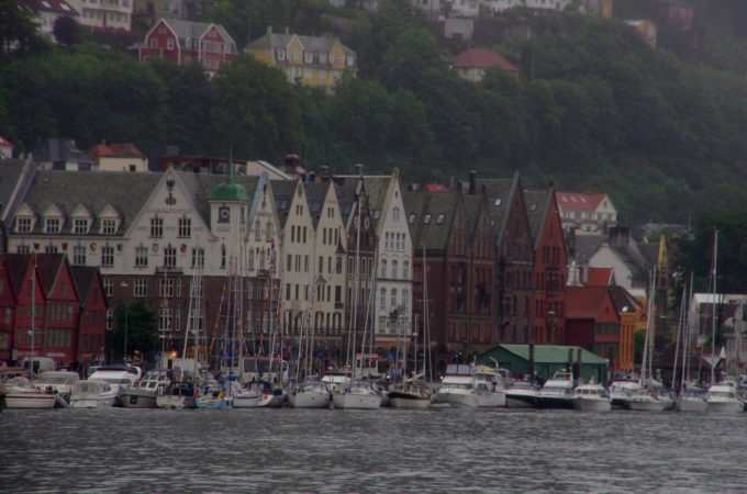 voyage, norvège, bergen