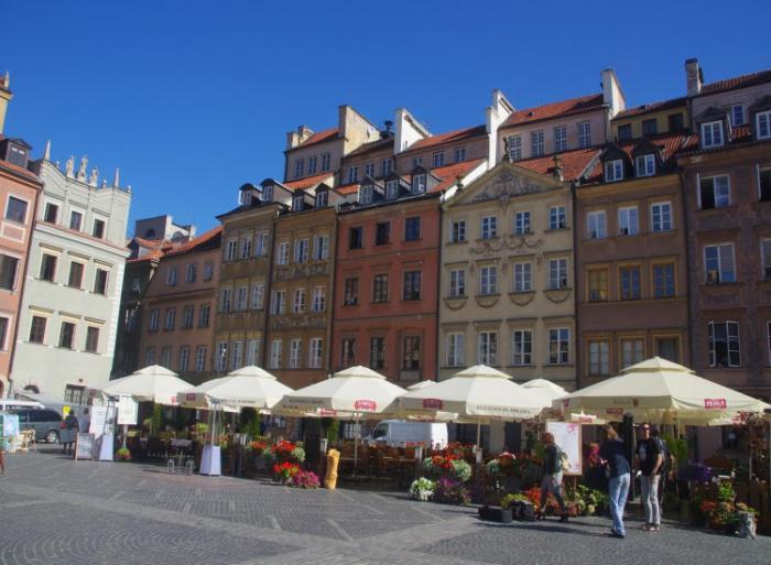 voyage,pologne,varsovie