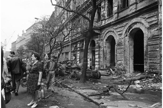 tchécoslovaquie,prague,invasion