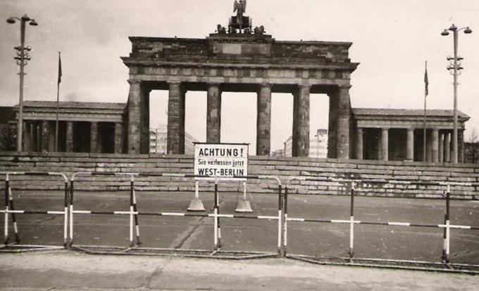 allemagne, berlin, mur