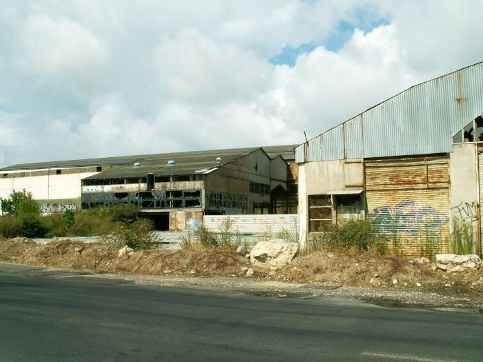 urbex, usine