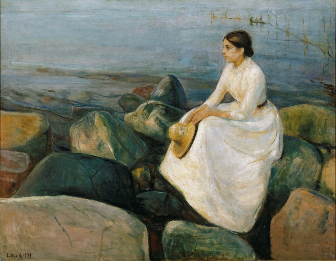 Edward Munch Summer Night. Inger at the Beach, 1889.jpg