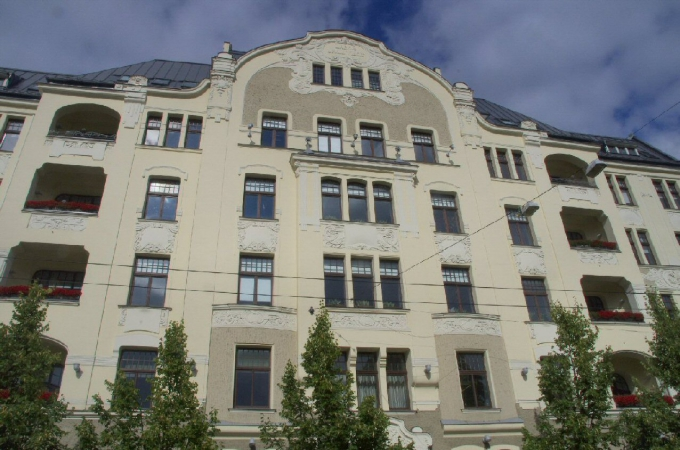 voyage, lettonie, riga, art nouveau