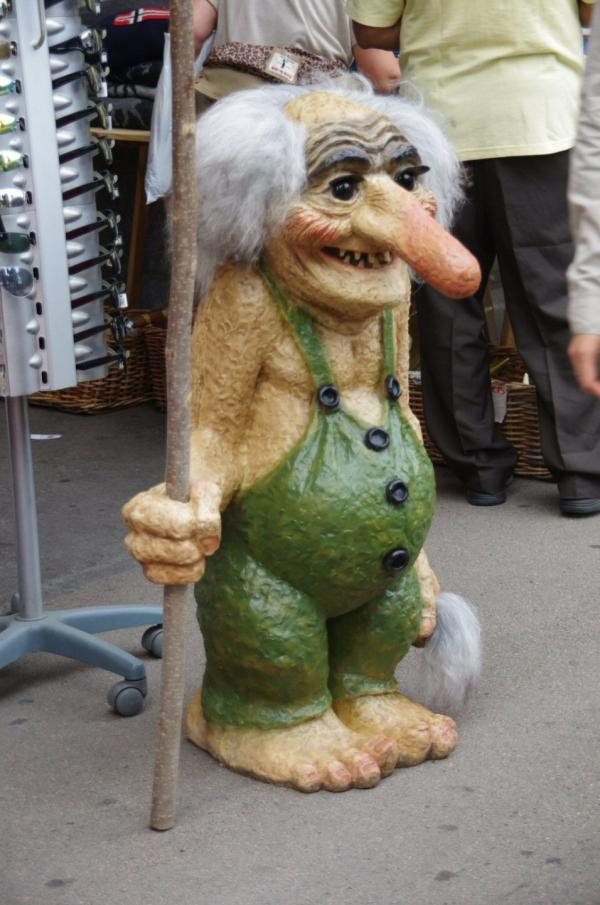 voyage, norvege,trolls