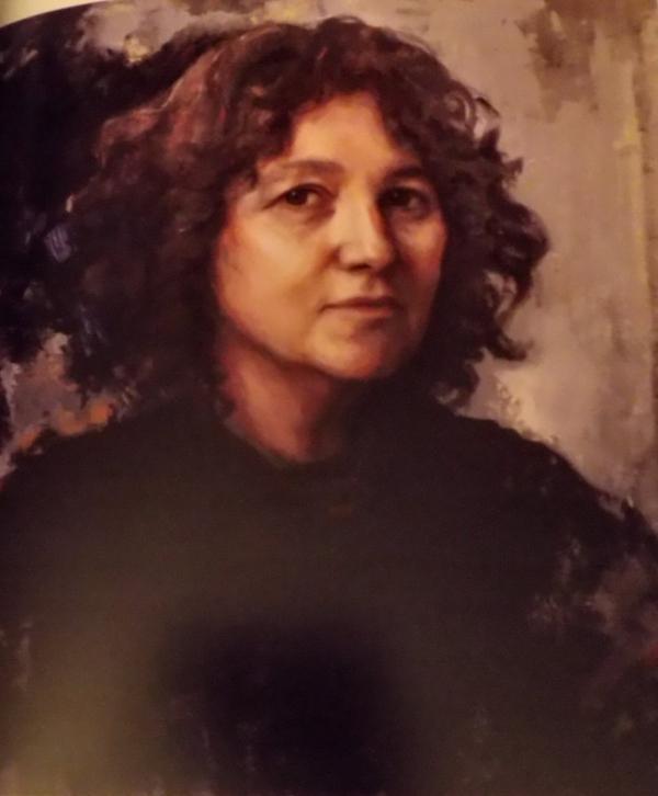 peinture, portraits, lucie geffré, madrid
