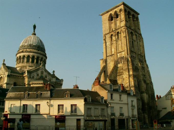 statue, saint martin, basilique, tours