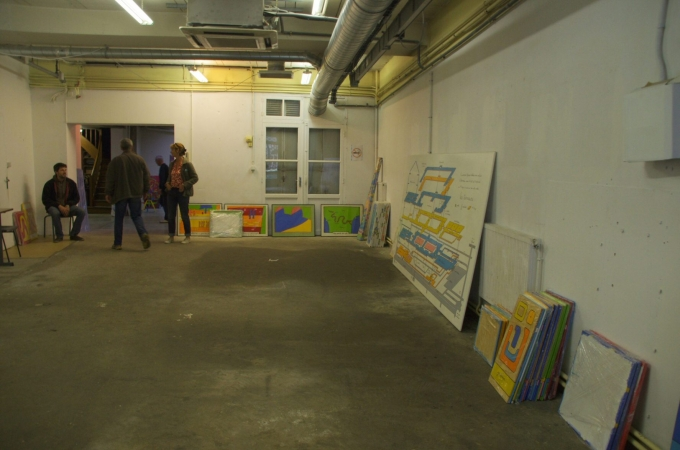 exposition,peinture,nico nu,tours