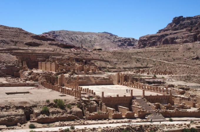voyage,pétra,jordanie