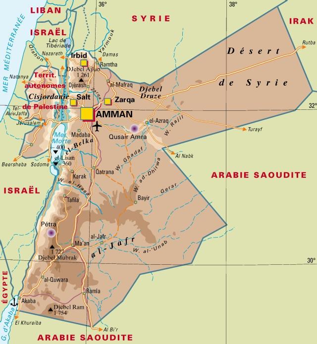 jordanie, israel