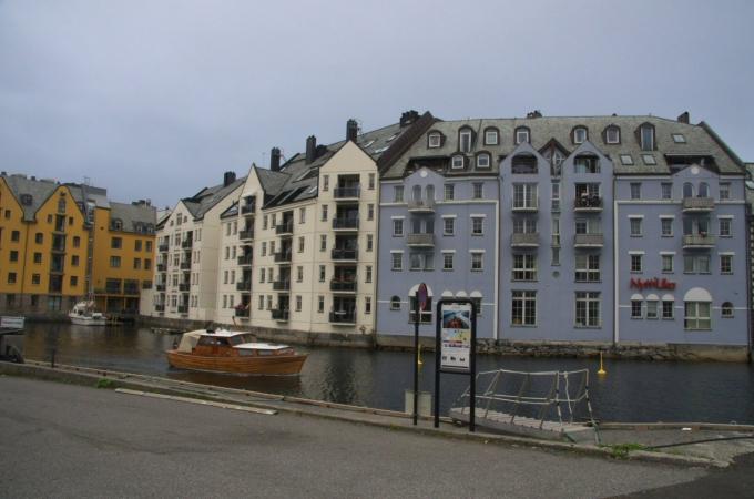 voyage, norvege, alesund