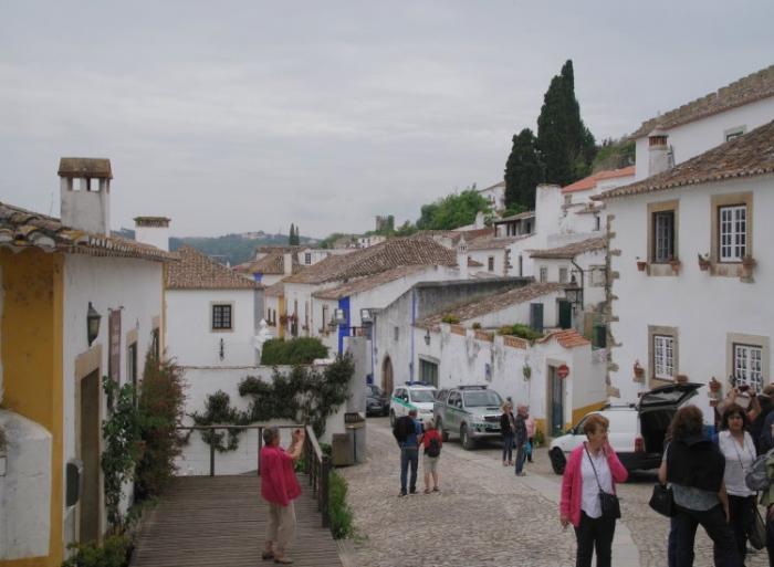voyage,portugal,obidos